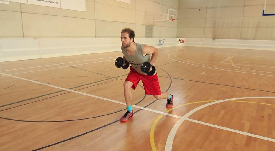 ¿Por qué no hacer una rutina típica de gimnasio para el