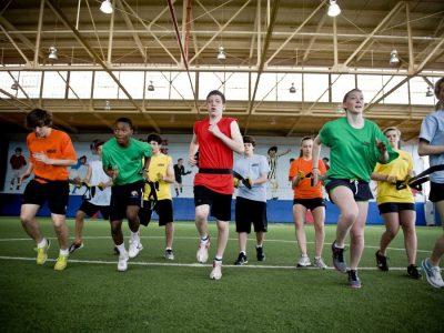 Entrenamiento de fuerza en niños y jóvenes deportistas