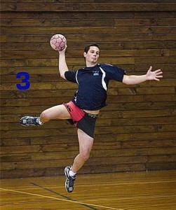 balonmano jump